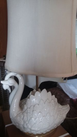 Elegant Swan Lamp for Sale in Bakersfield, CA