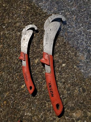Husky pipe wrenches for Sale in Vancouver, WA