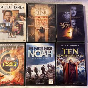 6 film Christian DVD Collection for Sale in Lincoln Park, MI