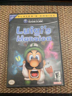 Luigi's Mansion Gamecube for Sale in North Las Vegas, NV