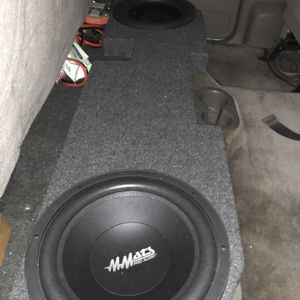 Dodge Ram Subwoofer Speakers & Enclosure for Sale in West Palm Beach, FL