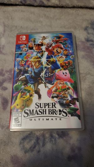 Super smash bros ultimate for Nintendo switch for Sale in San Diego, CA