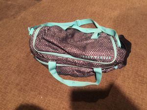 Teal/Grey Under Amour Duffle Bag w/strap for Sale in Modesto, CA