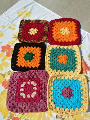 Set of 6 Crochet Pot Holders for Sale in Moreno Valley, CA