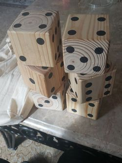 Large Wooden Dice for Sale in Arlington,  WA