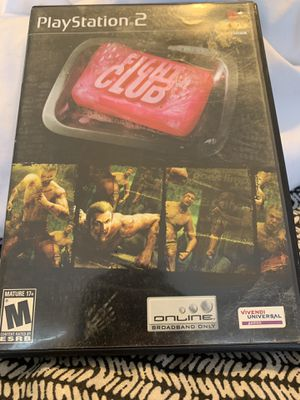 Ps2 Opened and tested Fight Club for Sale in Sugar Hill, GA