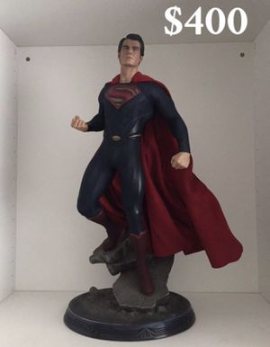 Man of steel collectible statue in immaculate condition for Sale in Cypress, TX