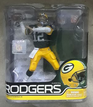 Official NFL Aaron Rodgers Action Figure for Sale in Balcones Heights, TX