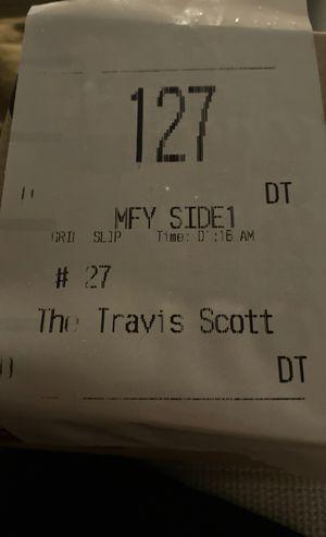 NEW TRAVIS SCOTT BURGER! for Sale in Sacramento, CA