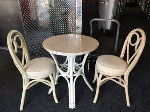 Marble topped bistro set for Sale in Schaumburg, IL