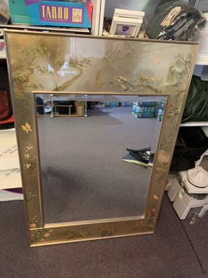Antique Mirror - purchased in palm beach gallery for Sale in Boca Raton, FL