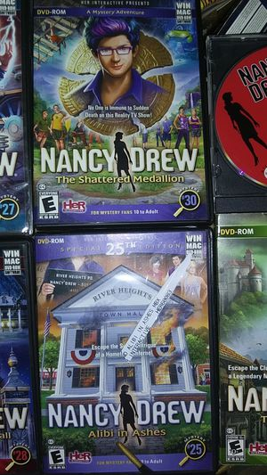 Nancy Drew pc games for Sale in Tampa, FL