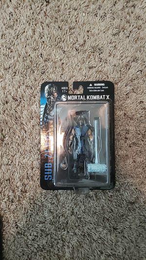 Mortal kombat x subzero action figure for Sale in San Antonio, TX