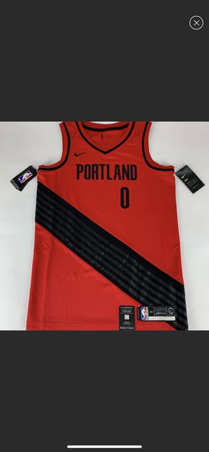 Damian Lillard Portland Trail Blazers NBA Nike Swingman Jersey New for Sale in Young, AZ
