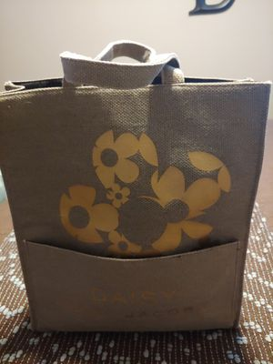 Marc Jacobs Gold Daisy Tote Bag for Sale in Tempe, AZ
