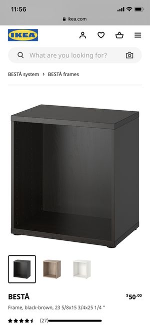 IKEA BESTA Bookcase for Sale in Long Beach, CA