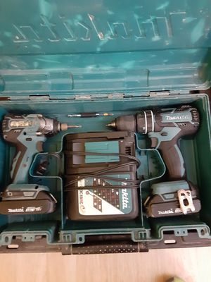 Makita 18v impact/drill combo for Sale in Oakland, CA
