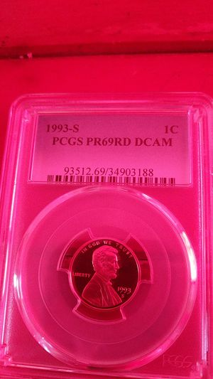 PCGS PR69 DCAM 1993s cent for Sale in Corinth, ME