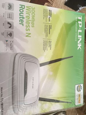 TP Link 300 Mbps Wireless N Router for Sale in Delaware, OH