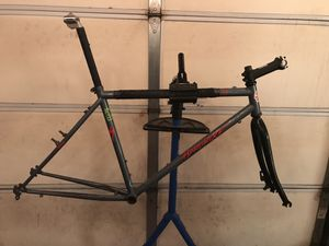 Steel Mountain Bike Frame and Rigid Fork for Sale in Chicago, IL