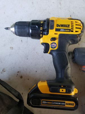 DeWalt 20 volt drill brand new Sawzall used for 1 month 4 batteries two charging packs for Sale in Austin, TX