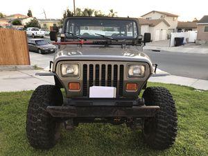 1991 Jeep Wrangler for Sale in Chula Vista, CA