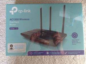 TP Link AC1350 Wireless Dual Band Router (New) for Sale in Puyallup, WA