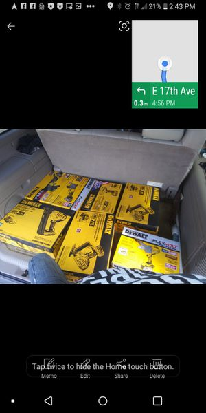Dewalts and Milwaukee kits flexvolt and fuel for Sale in Lincoln, NE