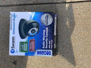 Swann Eight Camera Security System with DVR and Talking Camera for Sale in Houston, TX