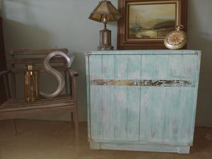 Coastal, Beachy, Barn House Cabinet for Sale in St. Petersburg, FL