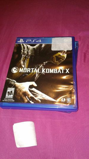 Mortal Kombat X for Sale in Baltimore, MD
