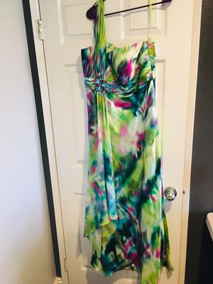 Prom/Banquet Dress - size 12 (with tag) for Sale in Murrieta, CA