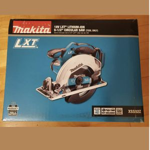 MAKITA 18v LTX Lithium-Ion 6.5 Inch Circular Saw (NIB) for Sale in Milpitas, CA
