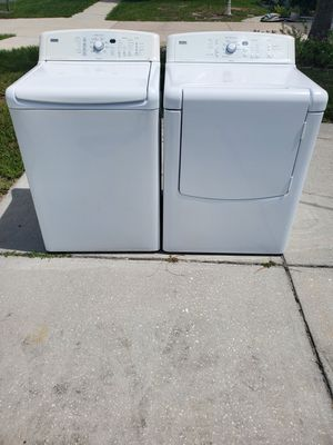 Free delivery.Matching Kenmore XL washer and dryer set for Sale in Spring Hill, FL