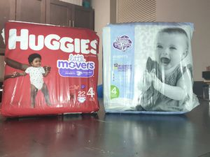 Huggies Diapers Size 4 for Sale in Baltimore, MD