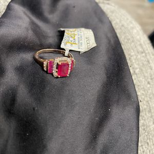 14 K Gold Ruby's And Diamonds Ring Women's for Sale in Denver, CO