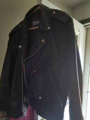 Leather riding jacket for Sale in Klamath Falls, OR