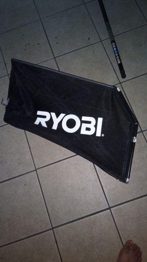Ryobi lawn mower bag for Sale in Jonesboro, GA