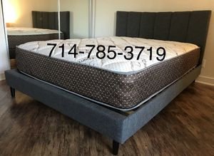 Queen bed frame & Mattress for Sale in San Diego, CA