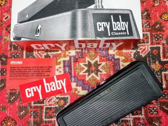 GCB95F Cry Baby Classic Fasel Inductor Wah Guitar Effects Pedal for Sale in San Diego,  CA