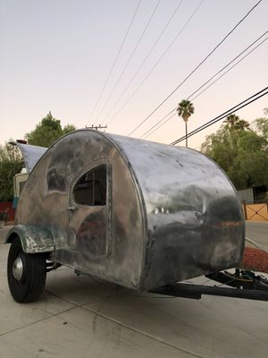 1940s teardrop trailer camper.RARE TO FIND. for Sale in Wildomar, CA