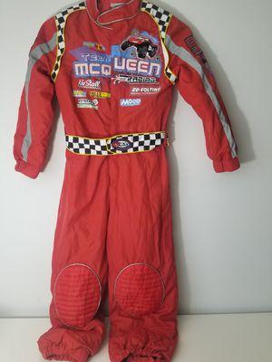 Disney Store Cars Lightning McQueen Pit Crew Costume Jumpsuit Team Medium Piston for Sale in Webster, FL