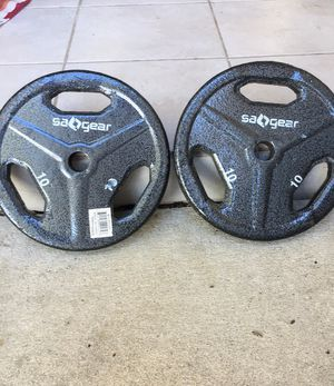 Weight 10 lbs each set of 2 for Sale in Largo, FL