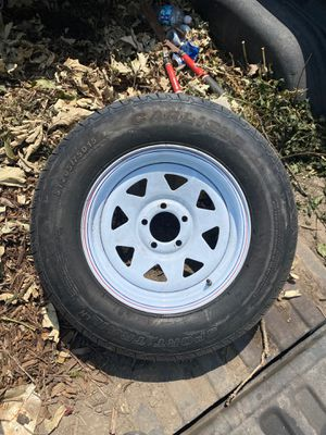 Trailer tire for Sale in Plainfield, IL