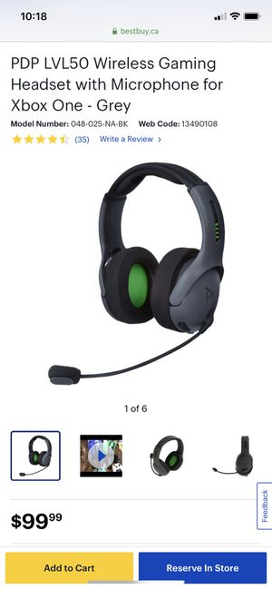 Gaming headset With wireless dongle for Sale in Media, PA