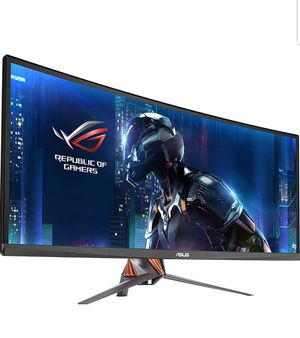 """ASUS ROG Swift PG348Q 34"""" Gaming Monitor Curved Ultra-Wide 3440x1440 100Hz IPS DisplayPort USB Eye Care G-SYNC for Sale in Sacramento, CA"""