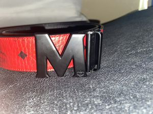 """Mcm Belt """"Ruby red"""" for Sale in Los Angeles, CA"""