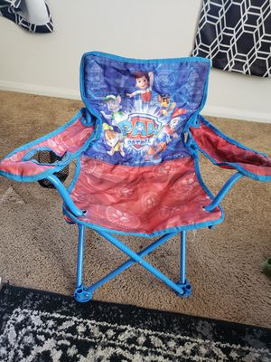 Paw patrol kids folding chair for Sale in Bloomington, CA