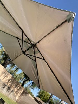 Large pool umbrella-$99 obo for Sale in Chandler, AZ