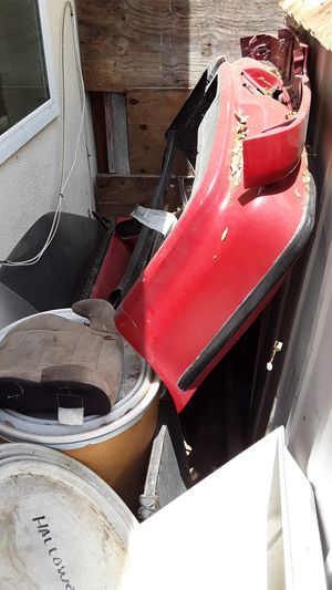 1990/93 Acura integra red parts doors hatch rear bumper for Sale in Riverside, CA